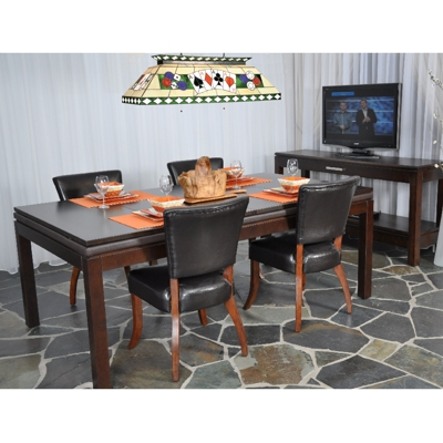 860002-La Condo Poker Table Dining Top Option